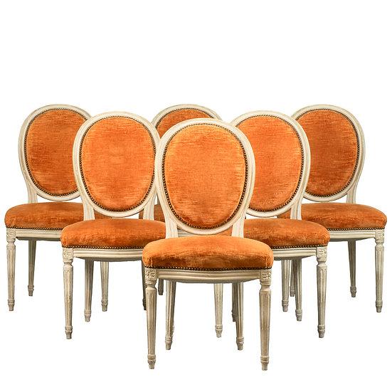 法國路易 XVI 古董椅