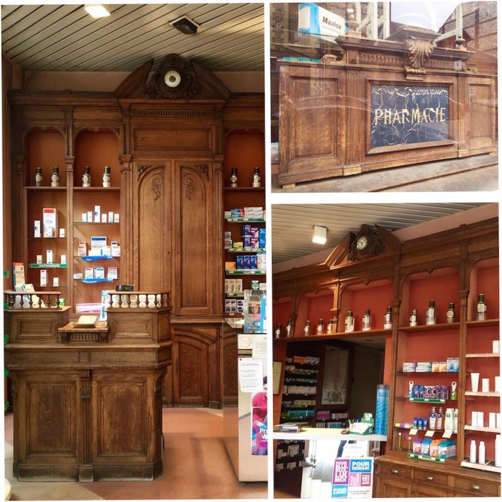 法國古董櫃台