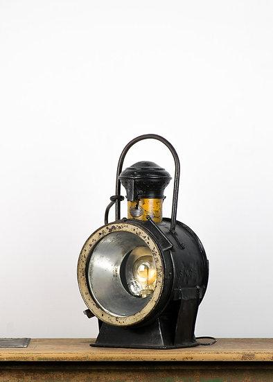 法國蒸汽火車頭燈