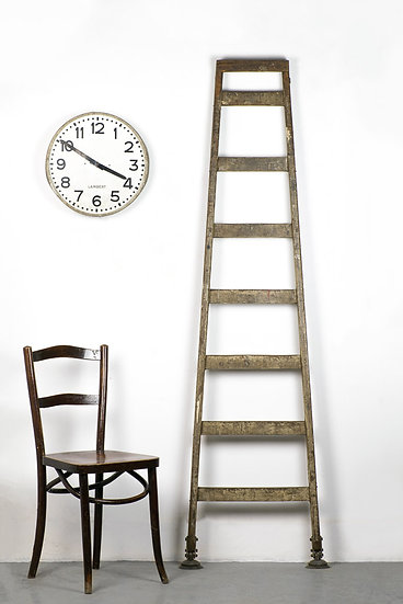 歐洲法國古董木梯