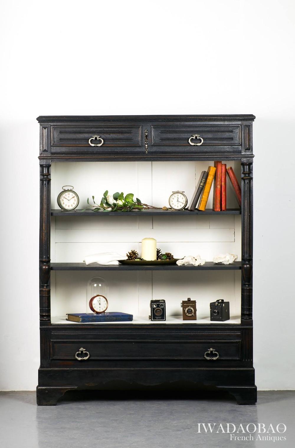 法國 Louis Philippe 古董展示櫃
