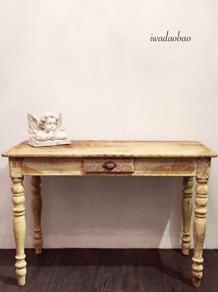 法國古董小桌