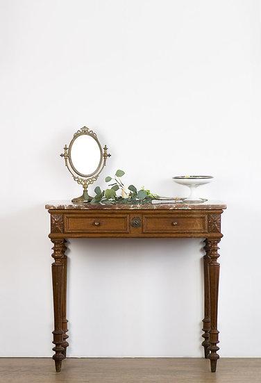 法國路易 XVI 古董邊桌