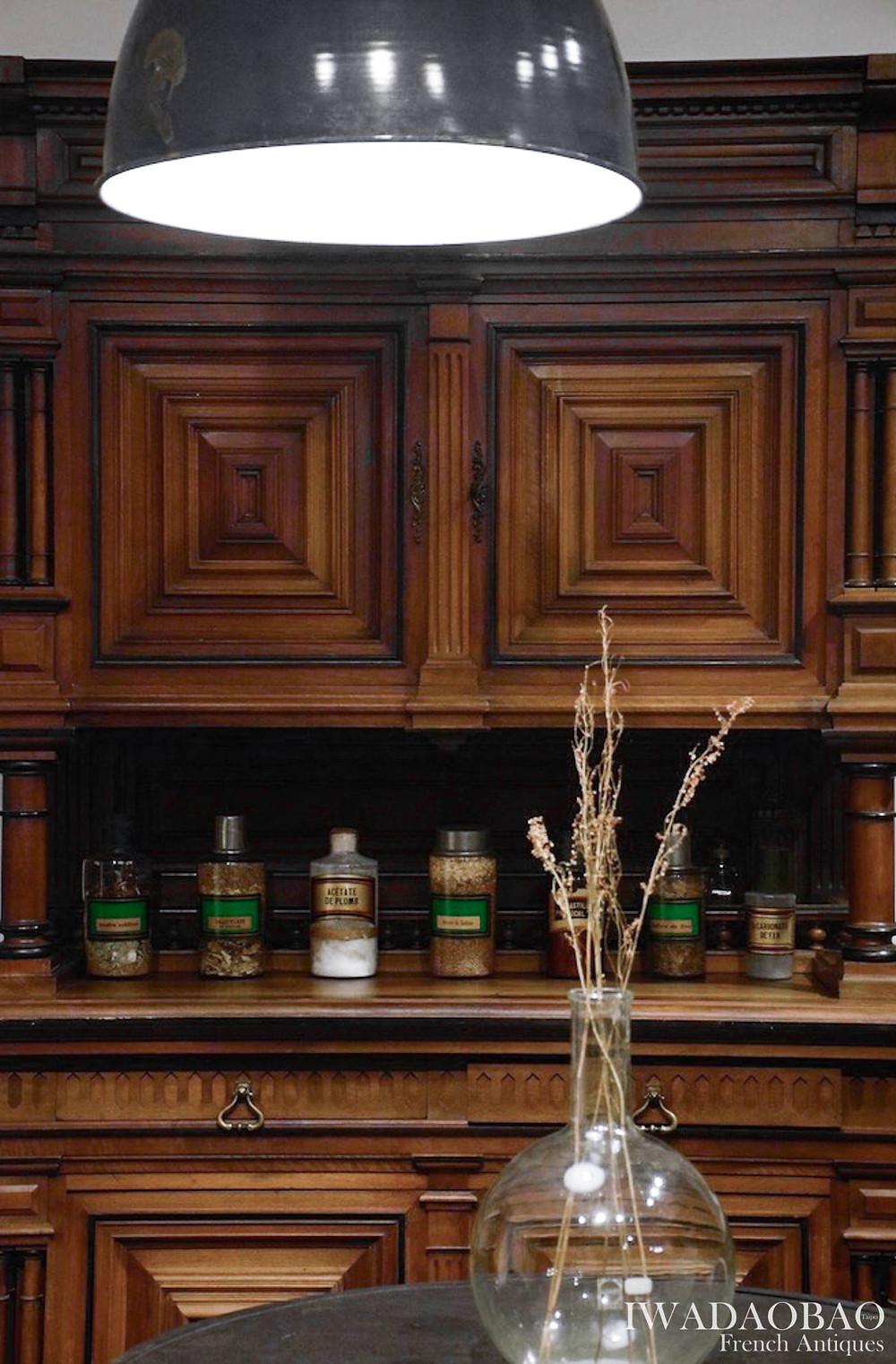 法國 Henri II 古董櫃