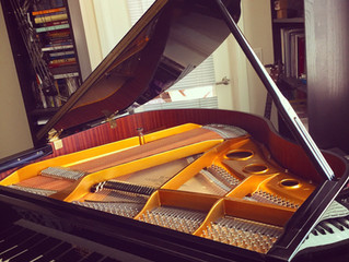 Hardman Grand Piano is available at the Studio!