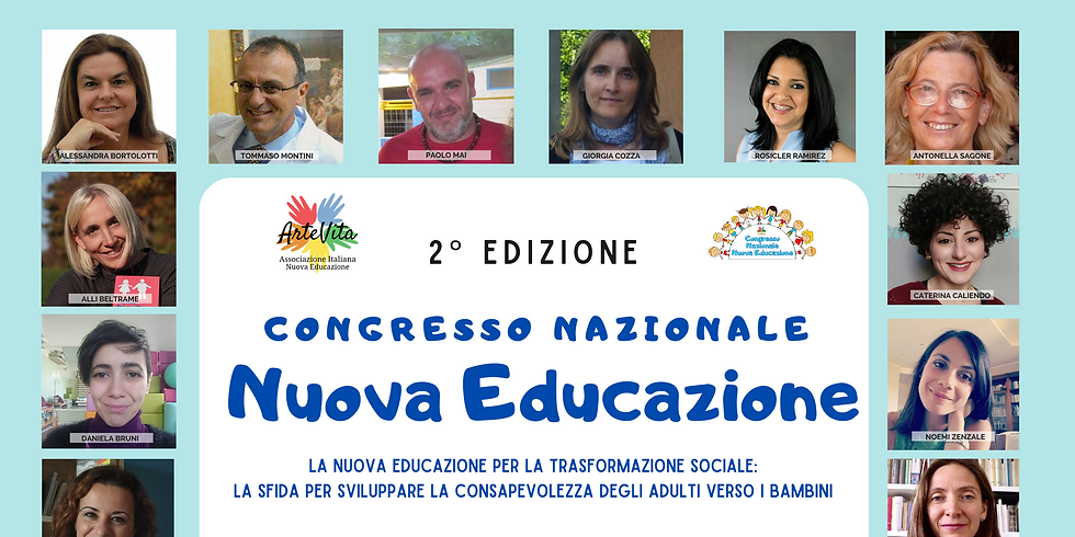CONGRESSO NAZIONALE NUOVA EDUCAZIONE - Edizione 2021 Online