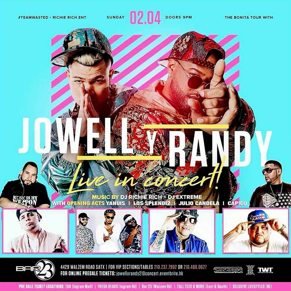 Jowell Y Randy Promo Flyer Ft. Capic