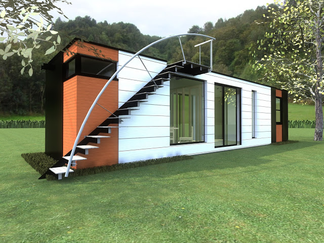 40ft Container home design