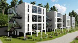 6Plex-BuildingsWhite