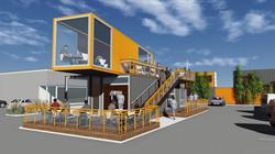 Container Cafe design idea