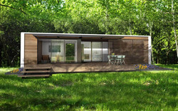 40ft HK Container home-New