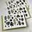 Thumbnail: Botanical composition  - blank card