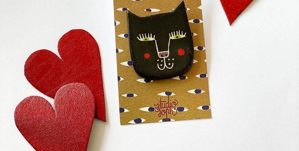 Ceramic brooch -  by Studio Soph