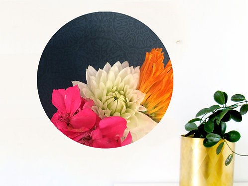 Botanical art dot - love bunch [R]
