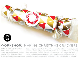 Let's make Christmas Crackers together