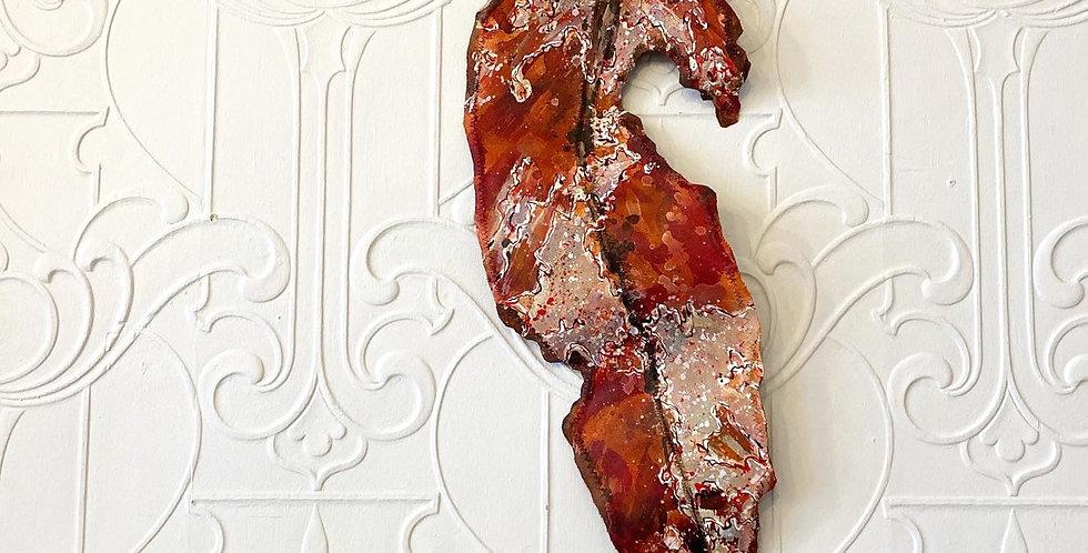 Gum Leaf art sculptures