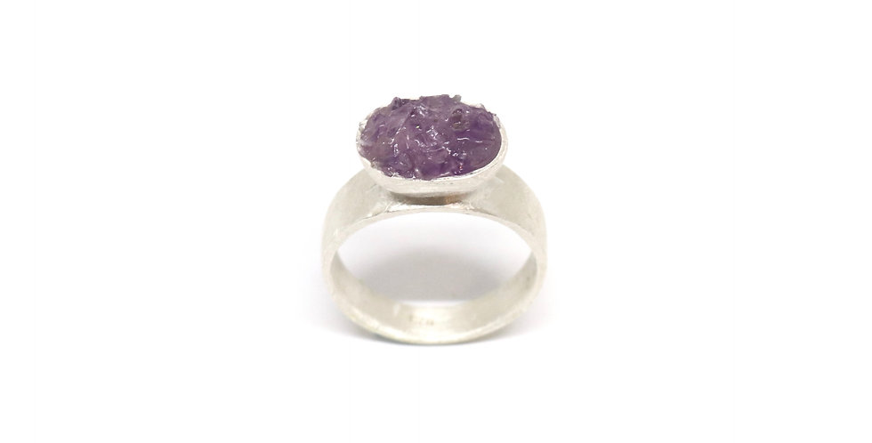 Baby Crush Cup ring - Amethyst