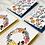 Thumbnail: Floral composition  - blank card