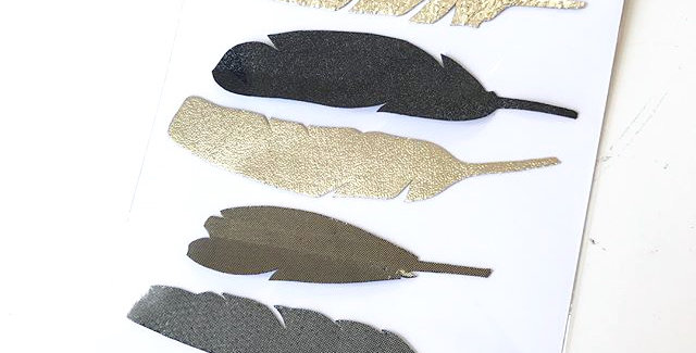 Gift set of magnetic feathers