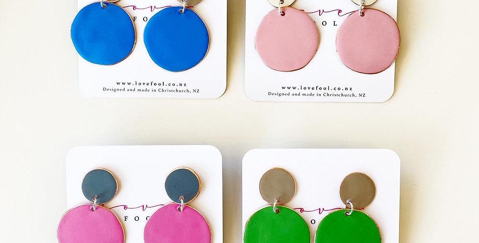 Polka dot earrings - Lovefool