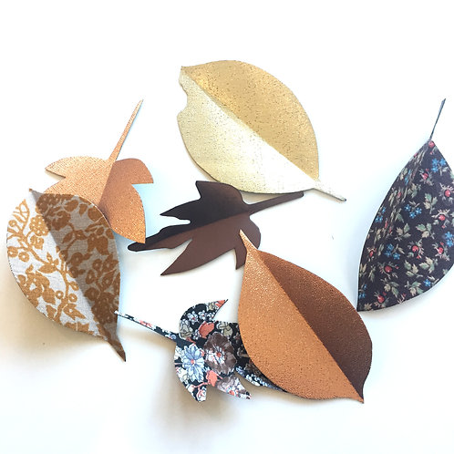 Autumn Leaf Magnets [M]