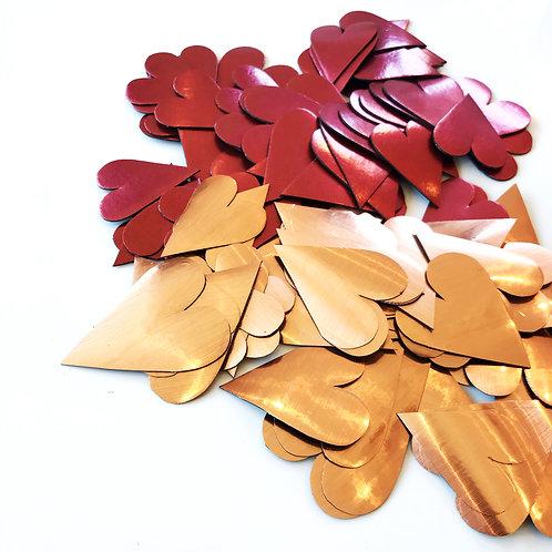 BULK heart magnets 100 - customised [M]