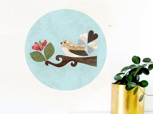 Fantail Art Dot - Mint [R]
