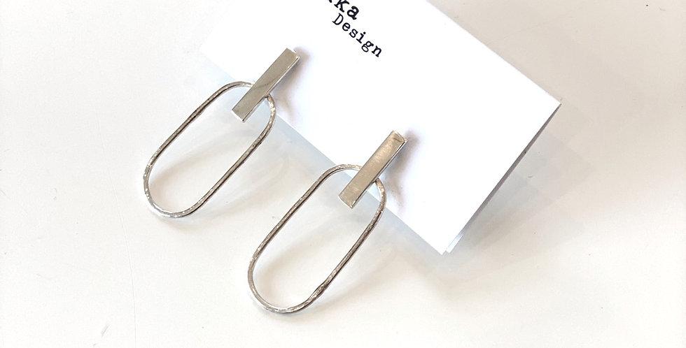 Stirling Silver earrings - KOU65