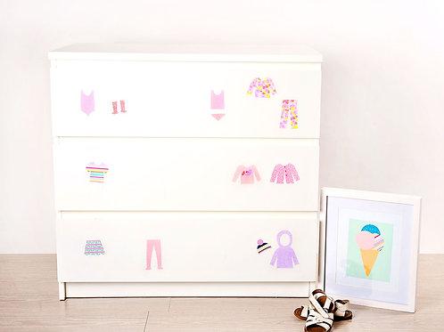 Drawer Organisers, Soft & girly [R]