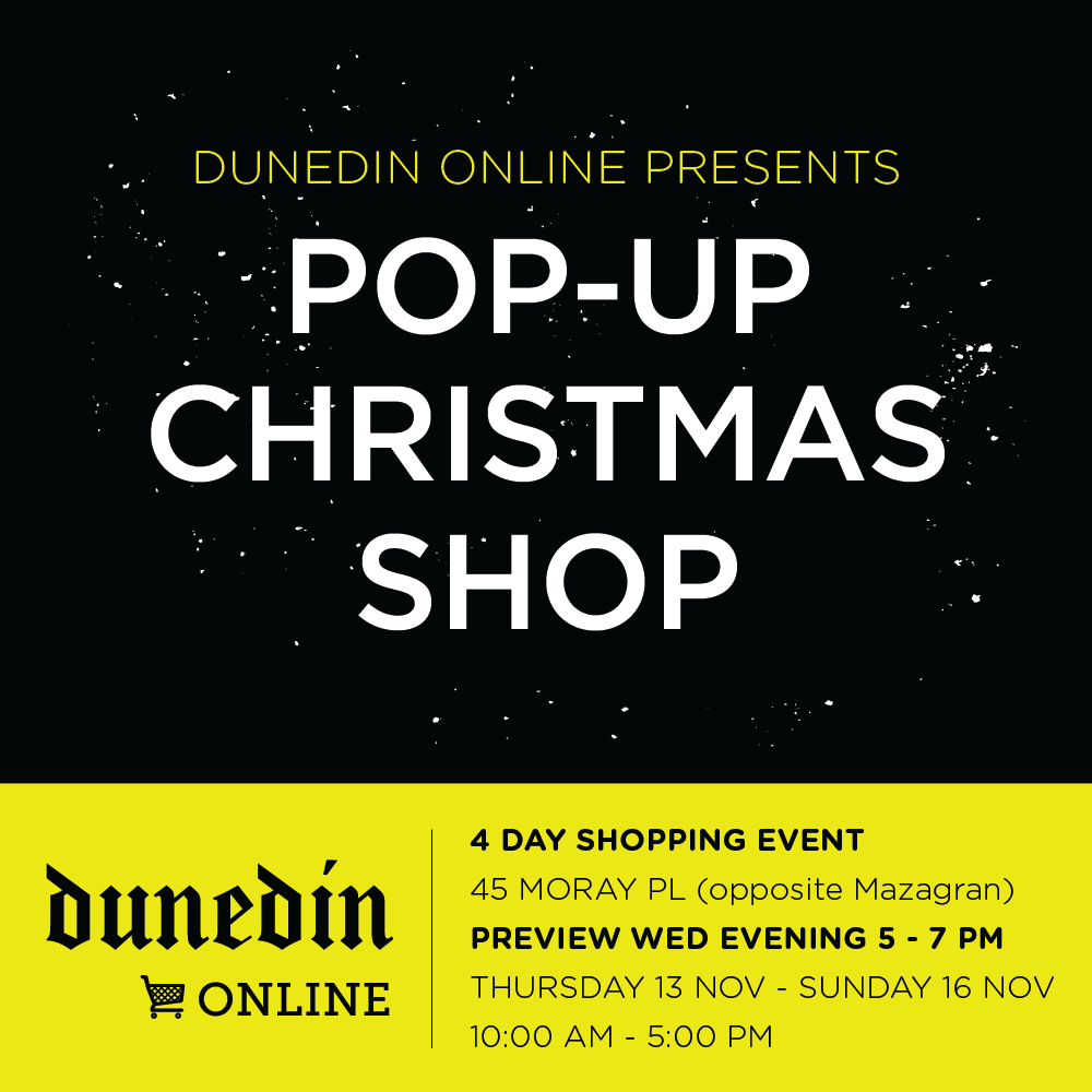 Dunedin Christmas Pop Up Shop