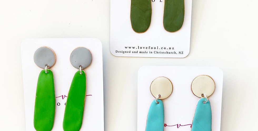 Teardrop earrings - Lovefool