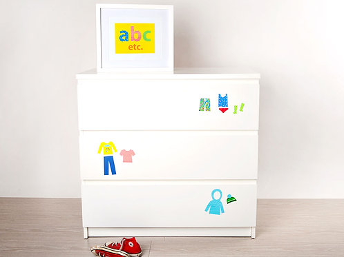 Drawer Organisers, Bright & Bold [R]