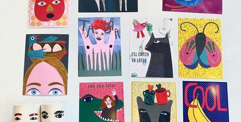Studio Soph Postcard - sale