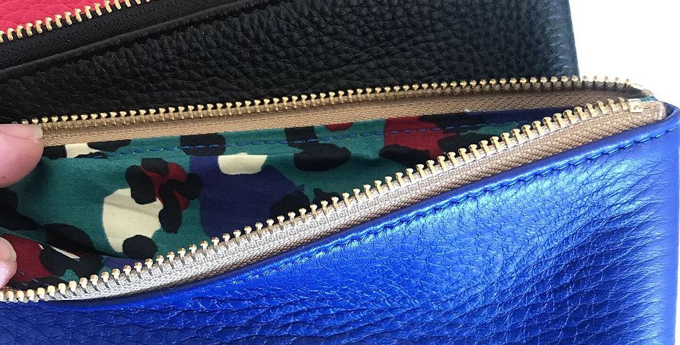 Helen Miller zip clutch
