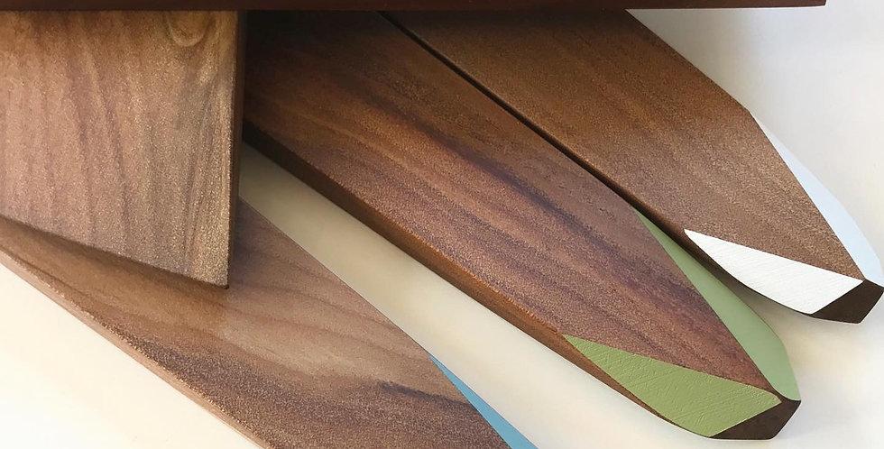 Native timber spatula