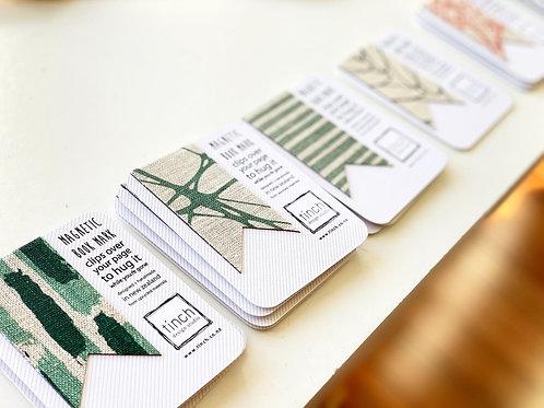 Linen Magnetic bookmark [M]