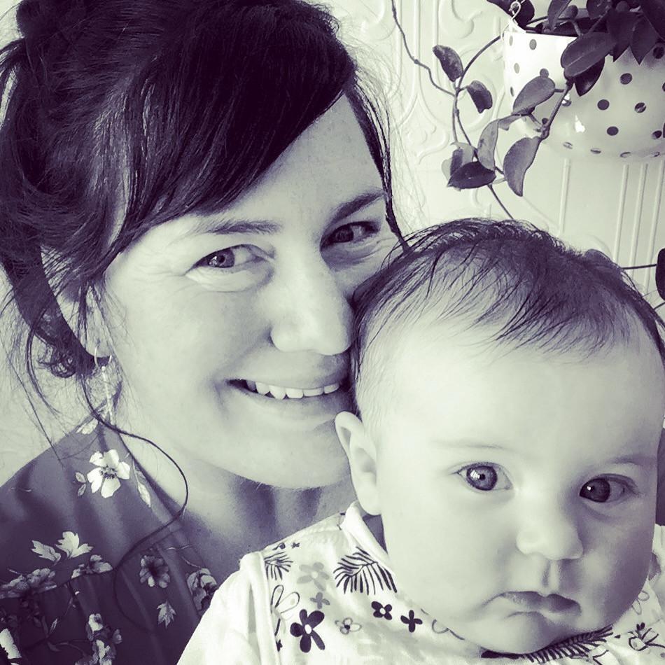 Helen and baby Sylvie | Feb 2017