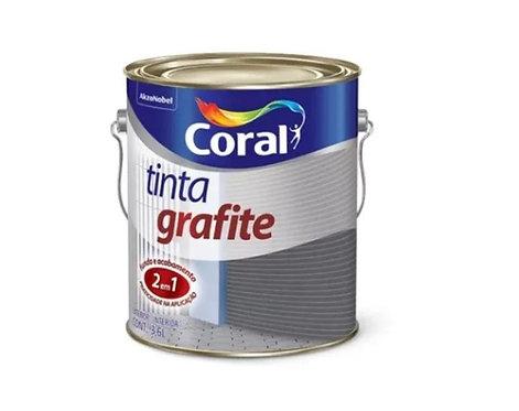 TINTA GRAFITE CINZA ESCURO 3,6L - CORAL