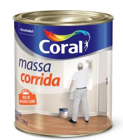 MASSA CORRIDA PVA 1,5KG - CORAL