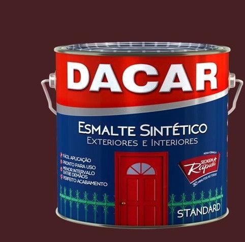 ESMALTE SINT STANDARD MARROM  900ML - DACAR