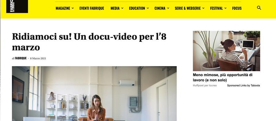 Carolina de' Castiglioni on Fabrique Du Cinema