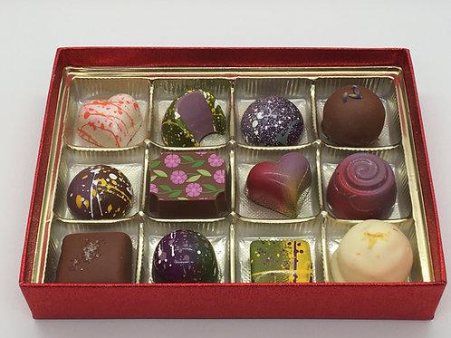 12-Piece Box of Chocolates