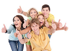 bigstock-Group-of-people-on-white-Teena-