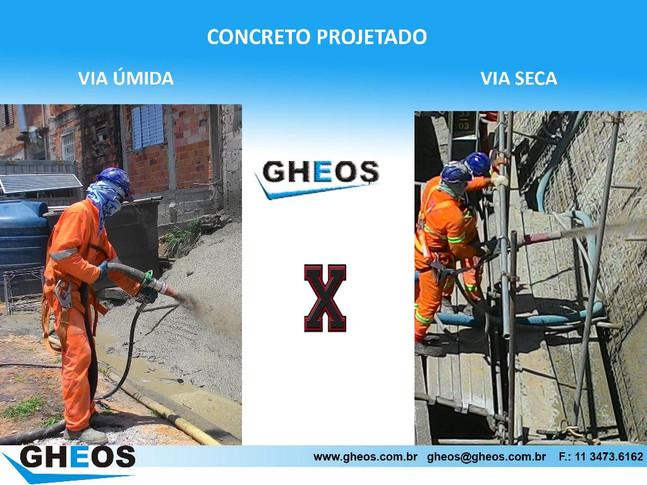 Concreto Projetado - Via Úmida x Via Seca