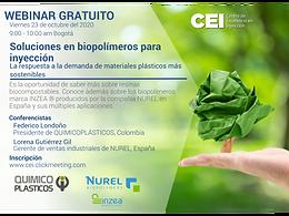 Soluciones en biopolímeros para inyección, la respuesta a la demanda de materiales plásticos más sostenibles
