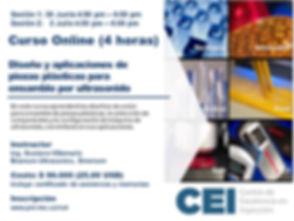 Diseño y aplicaciones de piezas plásticas para ensamble por ultrasonido