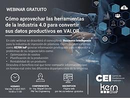 Cómo aprovechar las herramientas de la Industria 4.0 para convertir sus datos productivos en VALOR