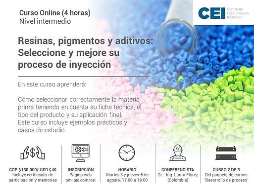 Resinas, pigmentos y aditivos: Seleccione y mejore su proceso de inyección