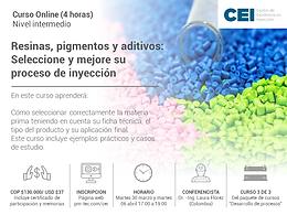 Resinas , pigmentos     y aditivos: Seleccionar y mejorar su proceso de inyección.