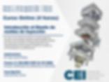 Introducción al Diseño de moldes de Inyección (25 y 27 de Agosto)